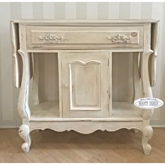 Consolle mobili shabby in legno stile provenzale country - Tavoli shabby chic on line ...