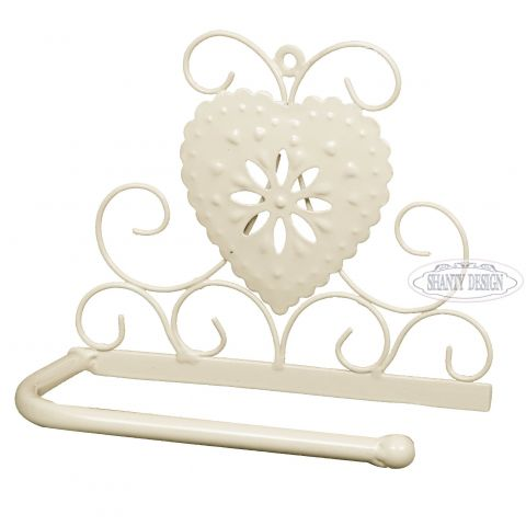 Porta carta igienica bagno cuore provenzale accessori - Accessori bagno porta carta igienica ...