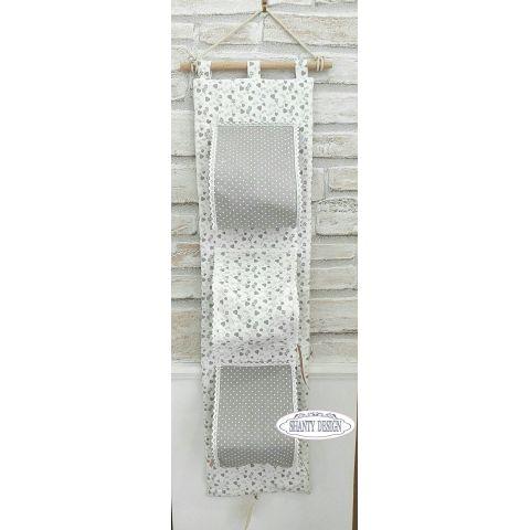 Porta carta igienica tessuto cuori provenzale accessori bagno shabby chic - Porta carta igienica design ...