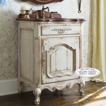 mobile bagno chanel 6 shabby chic mobile bagno in stile shabby chic ...