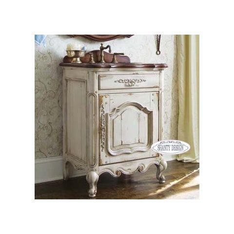 ... MOBILI SHABBY CHIC > Mobili Bagno > Mobile Bagno CHANEL 6 Shabby Chic