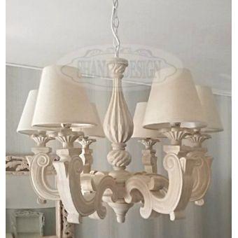 Lampadario shabby chic sonia 1 lampadari lampade - Lumi camera da letto ...