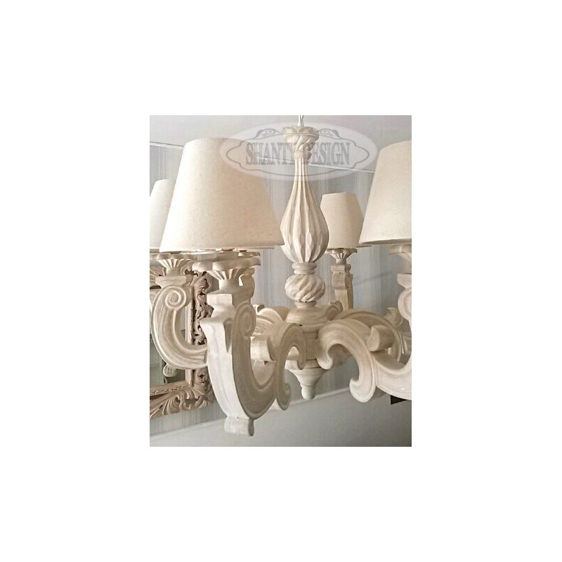 lampadario shabby chic vendita on line
