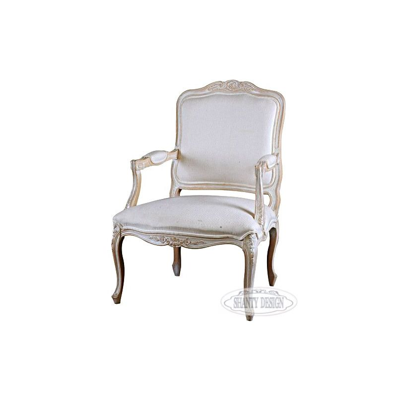 Poltrona shabby chic sonia 1 divani e poltrone shabby chic - Mobili stile country on line ...