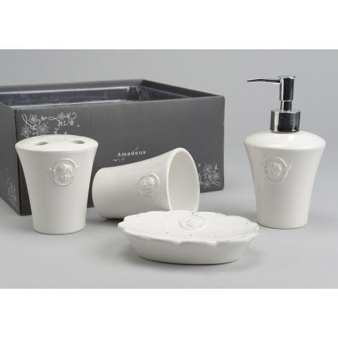 Set accessori bagno chanel shabby chic accessori bagno - Accessori bagno provenzale ...