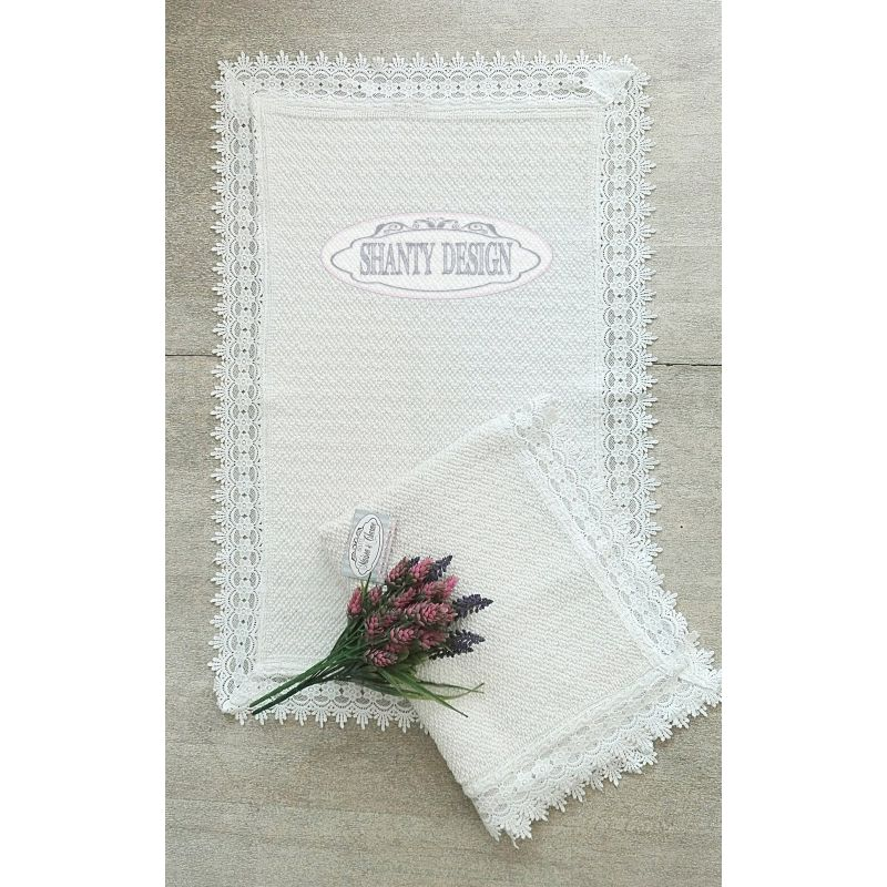 Tappeto bagno roma 4 shabby chic zerbini tappeti for Tappeti country chic