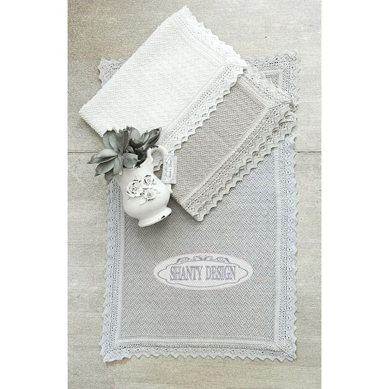 Tappeto bagno roma 5 shabby chic zerbini tappeti for Tappeti country chic