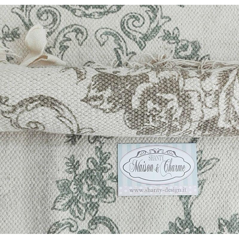 Tappeto cucina nadia 1 shabby chic zerbini tappeti - Copridivano stile provenzale ...