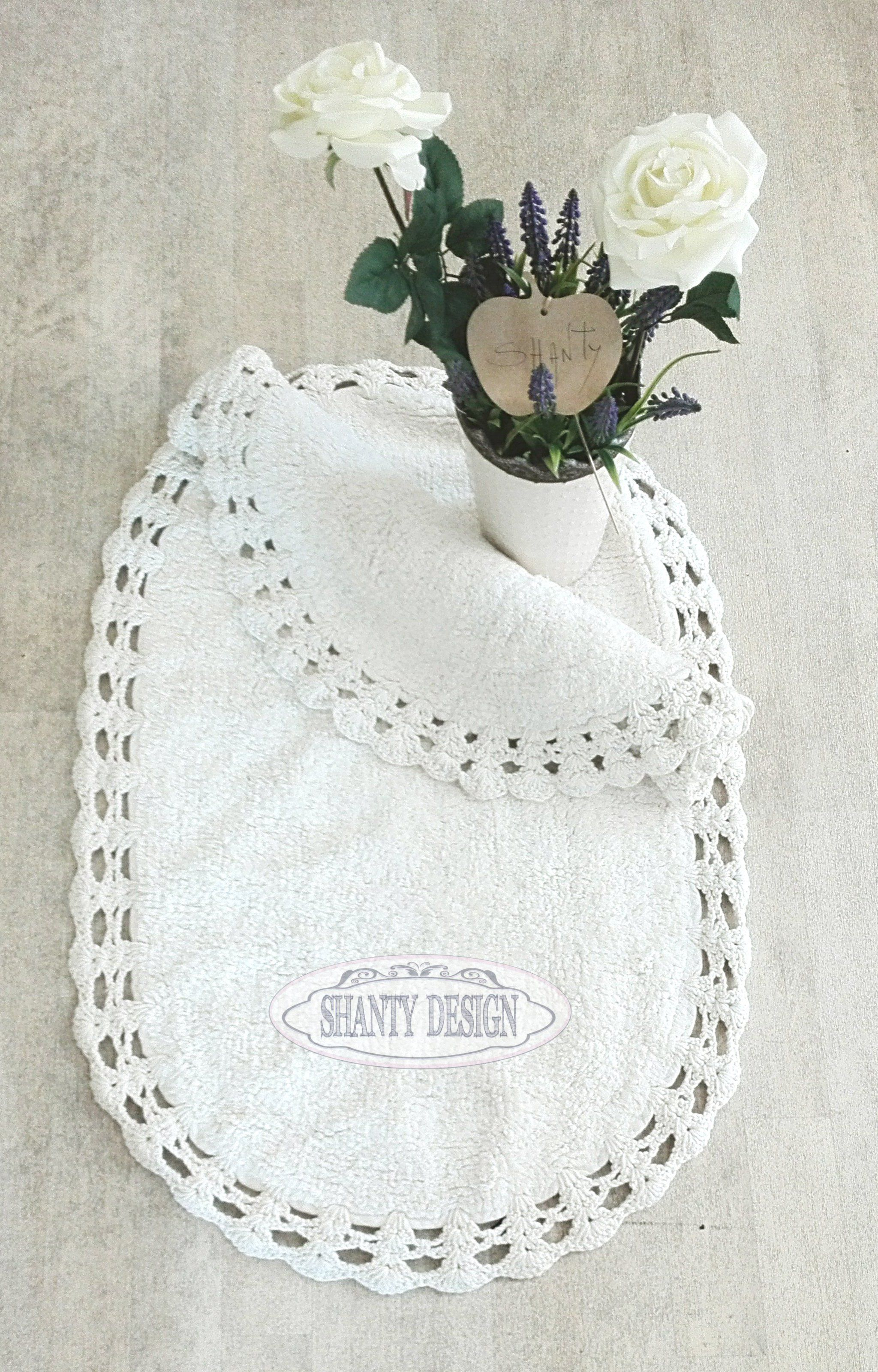 Tappeto ovale bagno roma 6 shabby chic zerbini tappeti for Tappeti country chic