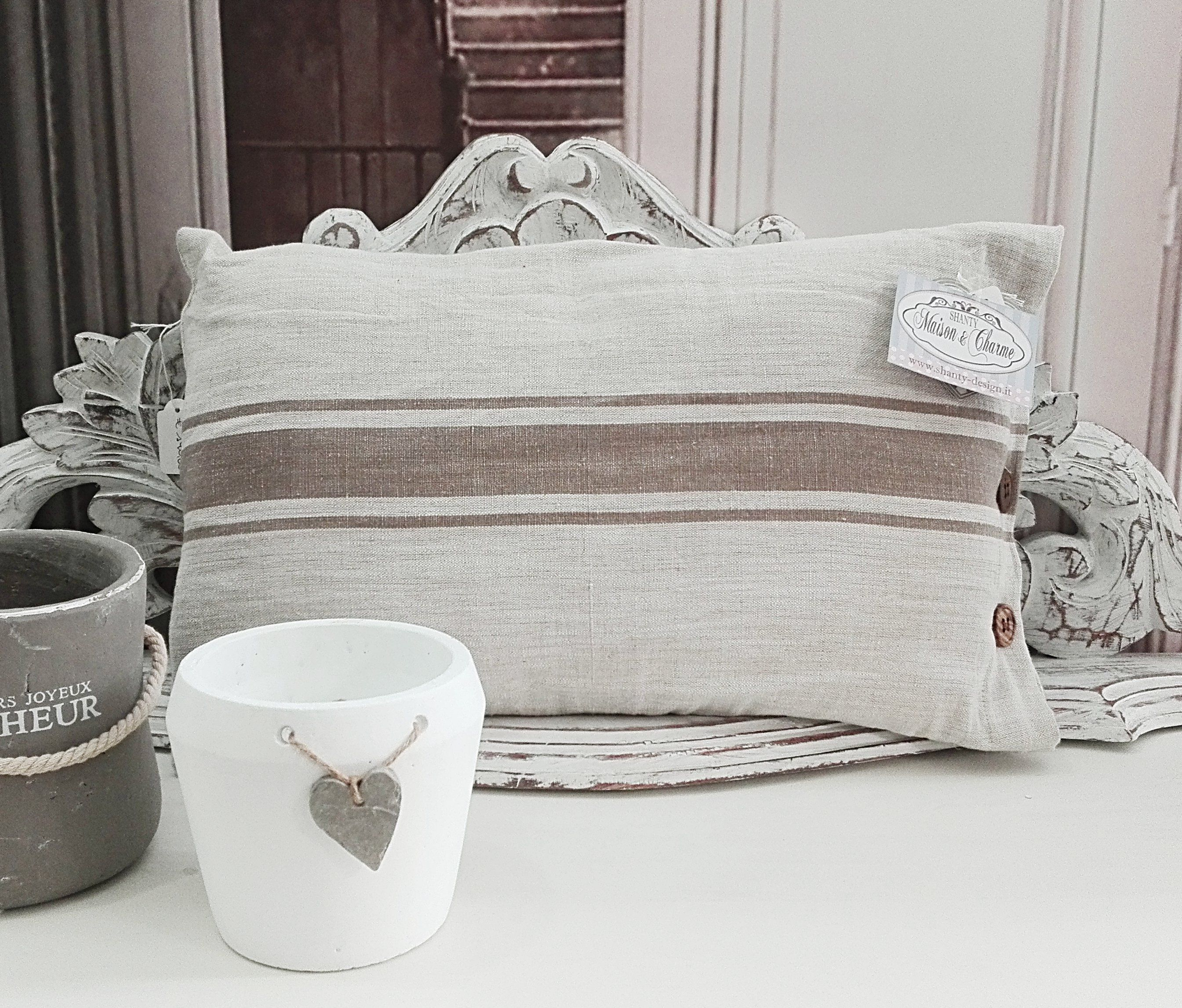 Tovaglie Provenzali, Runner e Cuscini Country in stile Shabby Chic