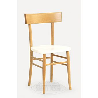 sedia in legno bicolore in stile shabby chic per arredameno bar ristoranti hotel in stile vintage retro online