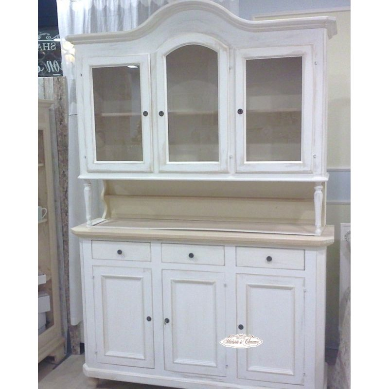 Credenza paris 3 country credenze buffet shabby chic for Arredamento stile country provenzale
