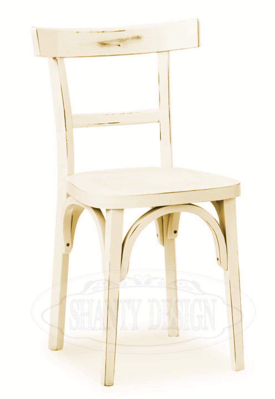 Sedia shabby chic roma 3 sedie for Sedie shabby chic ikea
