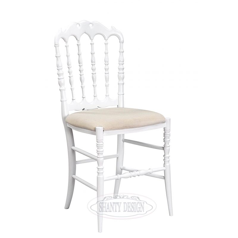 Sedia provenzale roma 10 sedie shabby chic for Sedie shabby chic ikea