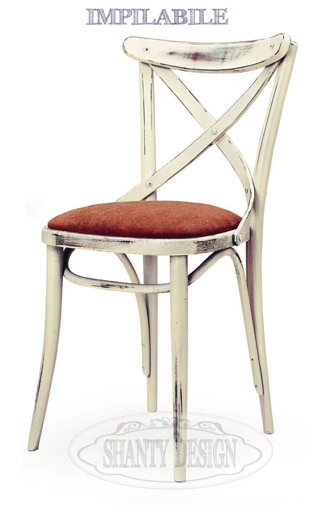 sedia provenzale roma 6 sedie shabby chic