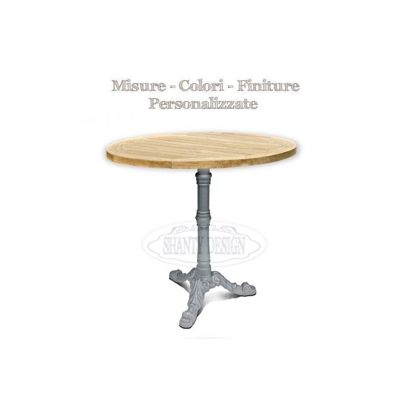 16 tavolo rotondo provenzale shabby chic tavolo - Zara home porta di roma ...