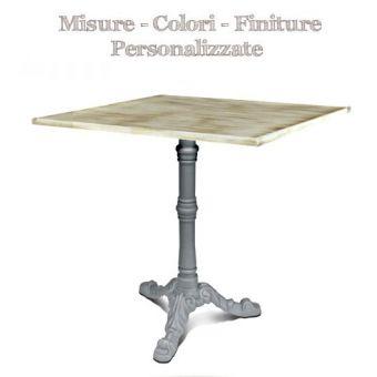 tavolo bar ristorante 8 quadrato gamba centrale in ghisa industriale e piano in legno per cucina bar bistrot online.jpg