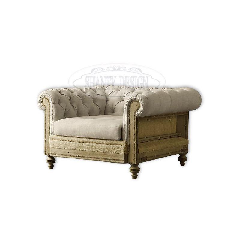Poltrona chesterfield industrial vintage 16 divani e for Arredamento stile industriale roma
