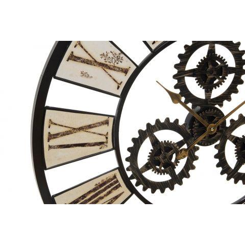 Orologio da muro industrial 2 shabby orologi - Orologi da parete shabby chic ...