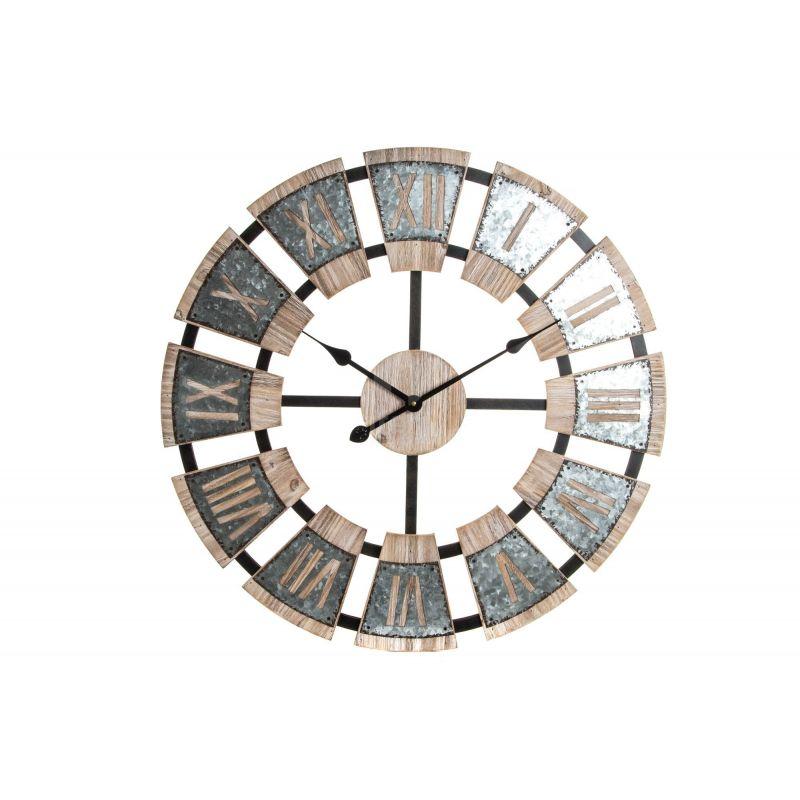 Orologio da muro industrial 3 shabby orologi - Orologi da parete shabby chic ...