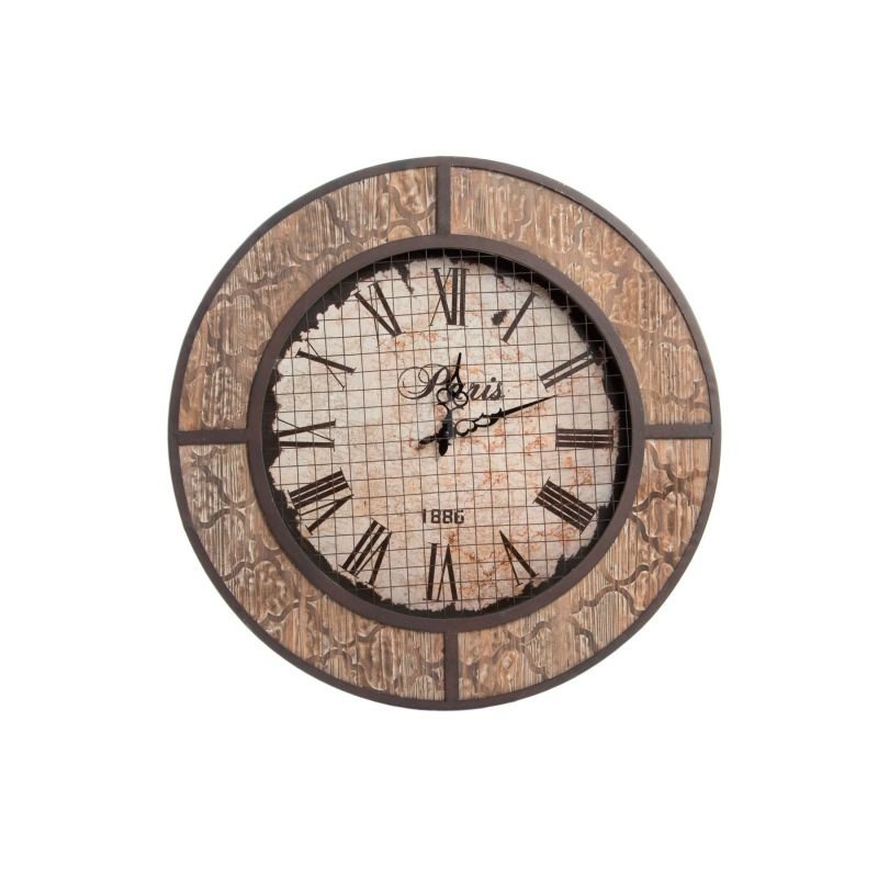 Orologio da muro industrial 5 shabby orologi for Orologio da muro shabby
