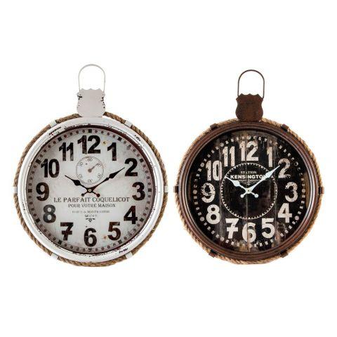 Orologio da muro vintage 1 shabby orologi for Orologio muro vintage