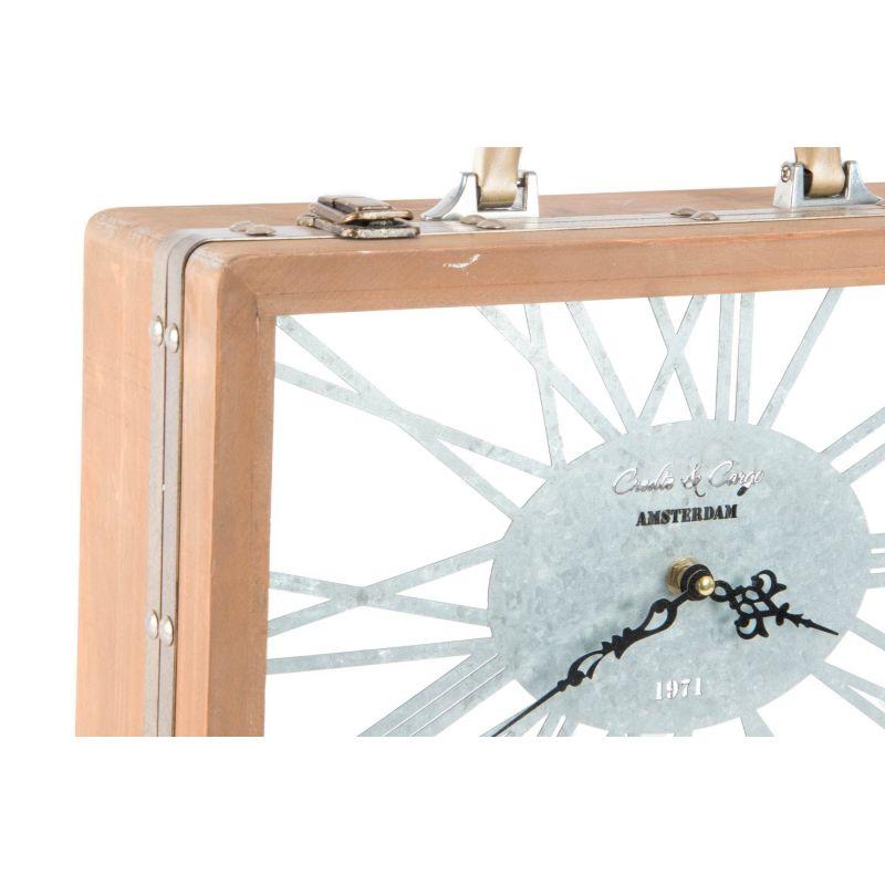 Orologio da tavolo retro 39 1 shabby orologi for Orologio da tavolo legno