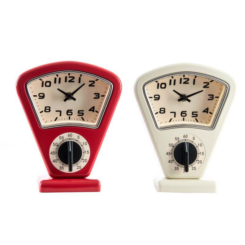 Orologio da tavolo retro 39 2 shabby orologi for Orologio da cucina design