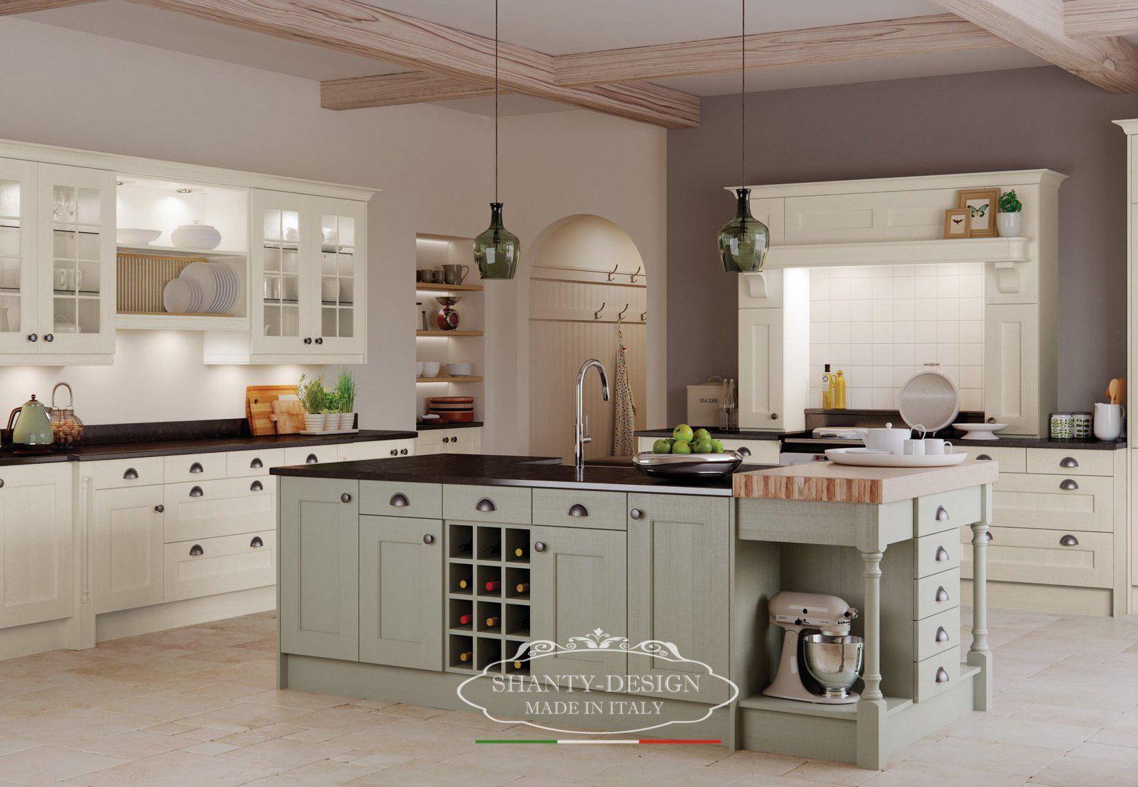 Cucina 5 su misura provenzale cucine su misura provenzale - Cucine su misura roma ...