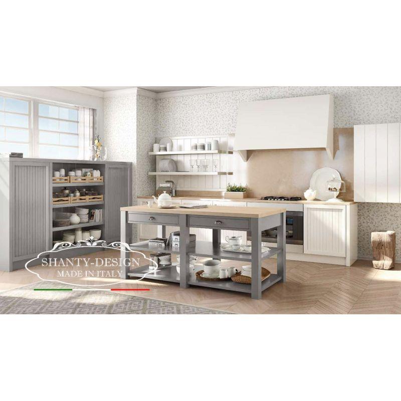 Cucina 9 su misura provenzale cucine su misura provenzale for Arredamento cucina country