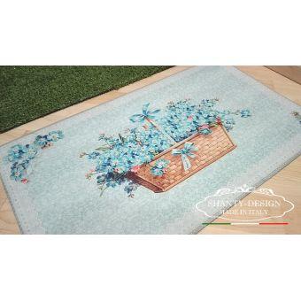 zerbino tappeto in gomma stile shabby provenzale per ingresso cucina cottage vendita online