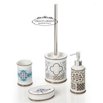 4 accessori da bagno stile vintage retrò in ceramica shabby chic stile provenzale online