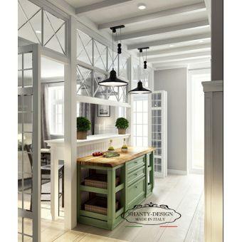 Cucina ed Arredamento Shabby Chic , falegnameria roma legno Cucine su misura stile provenzale online