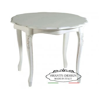 tavolino shabby per arredare salotto in stile provenzale legno decapè online