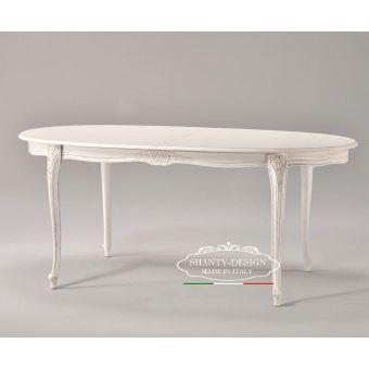 tavolo ovale country chic allungabile per mobili da cucine provenzali online