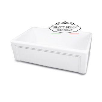 lavelli apron farmahouse shabby per cucina e lavello bagno provenzale online roma
