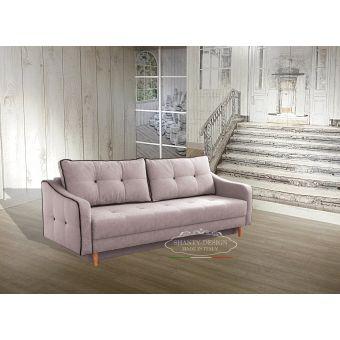 divano nordic 2 con letto matrimoniale scandinavo colore pastello rosa shabby chic roma