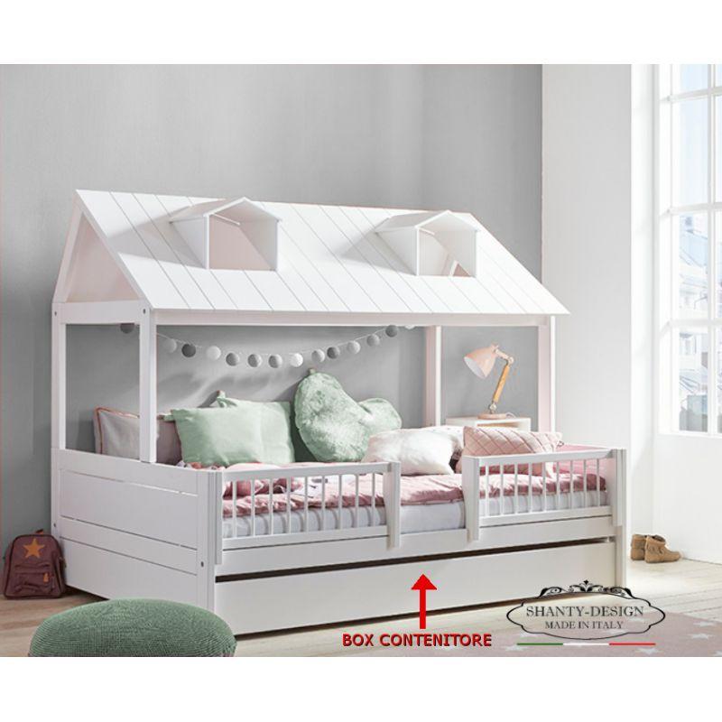 Letto Cameretta.Cameretta Bambini Montessori 1 Con Letto A Casetta Stile Nordico