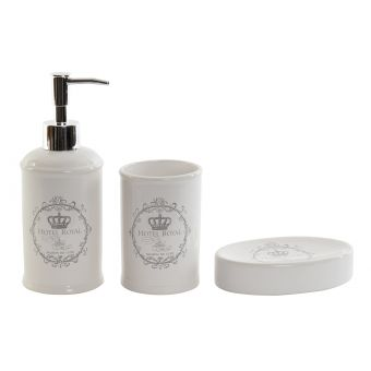 Set 2 Accessori Bagno ROMA 1 Shabby Chic