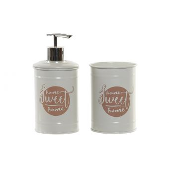 Set 2 Accessori Bagno ROMA 2 Shabby Chic