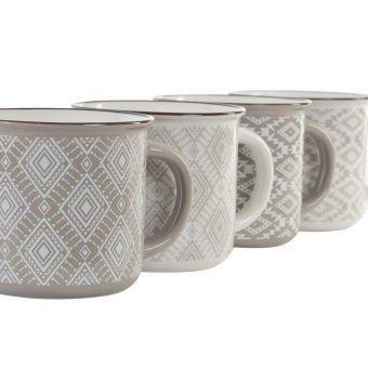 servizio tazze e mug shabby per arredare cucina e tavola in stile provenzale online
