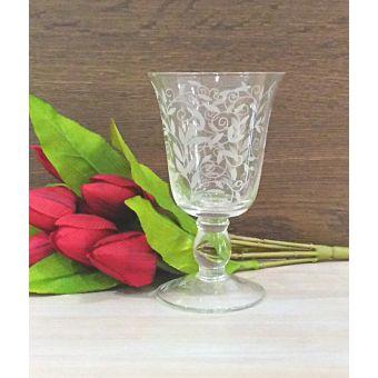 bicchieri da vino shabby trasparenti per tavola in stile country chic roma online