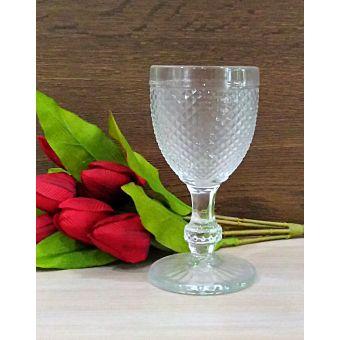 bicchieri servizio di calici stile provenzale per tavola shabby chic in vetro trasparente online