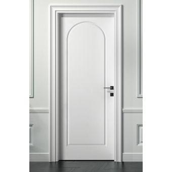 02 porta interna shabby offerta a battente pantagrafata laccata panna stile inglese ROMA 1