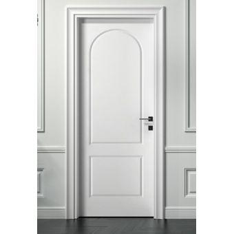 22 porta interna stile inglese crema con anta in legno e bugna incisa shabby e porte interne online ROMA 4