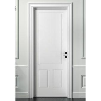 33 porta bianca interna in offerta stile inglese e porta battente shabby legno laccata ROMA 6