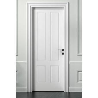 42 porta interna filomuro con inglesina e porta a battente shabby laccata online ROMA 7