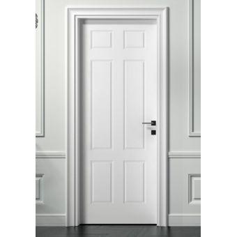 42 porta interna a battente colorata shabby in legno pantografata e laccata scomparsa online ROMA 8