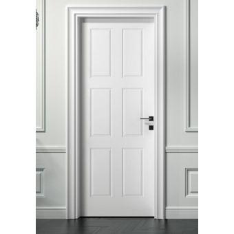 43 porta interna con inglesina e con anta pantograta laccata bianca shabby in legno vendita online ROMA 11