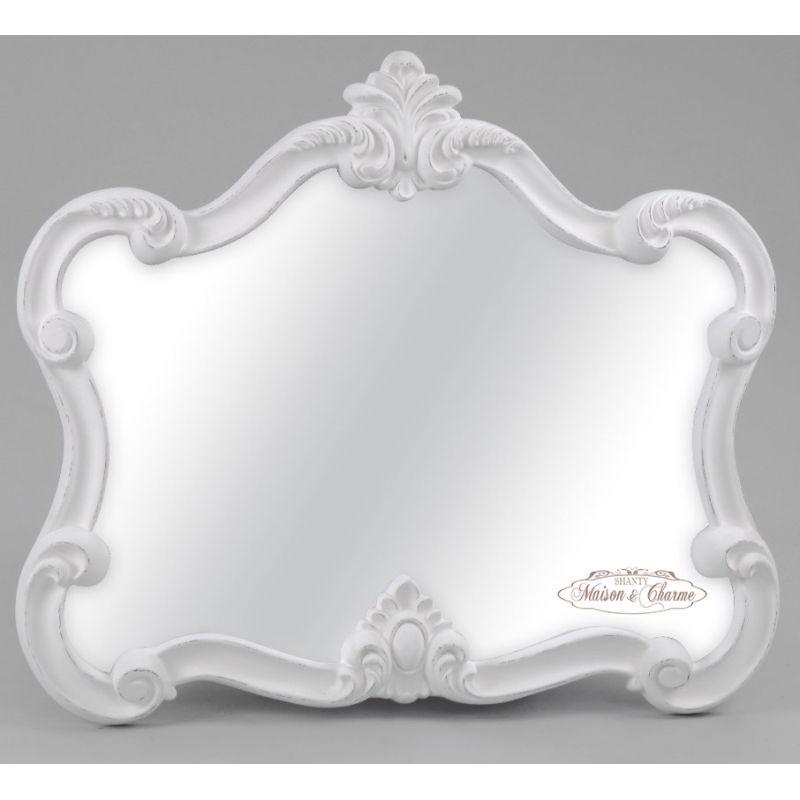 Arredamento stile shabby chic arredare interni ed esterni - Specchio ovale shabby chic ...
